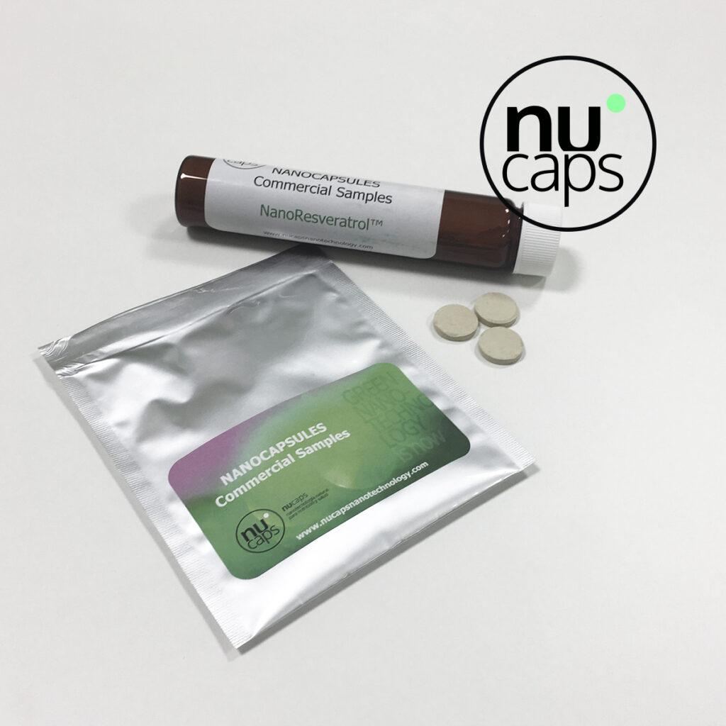 muestras producto nanoencapsulación