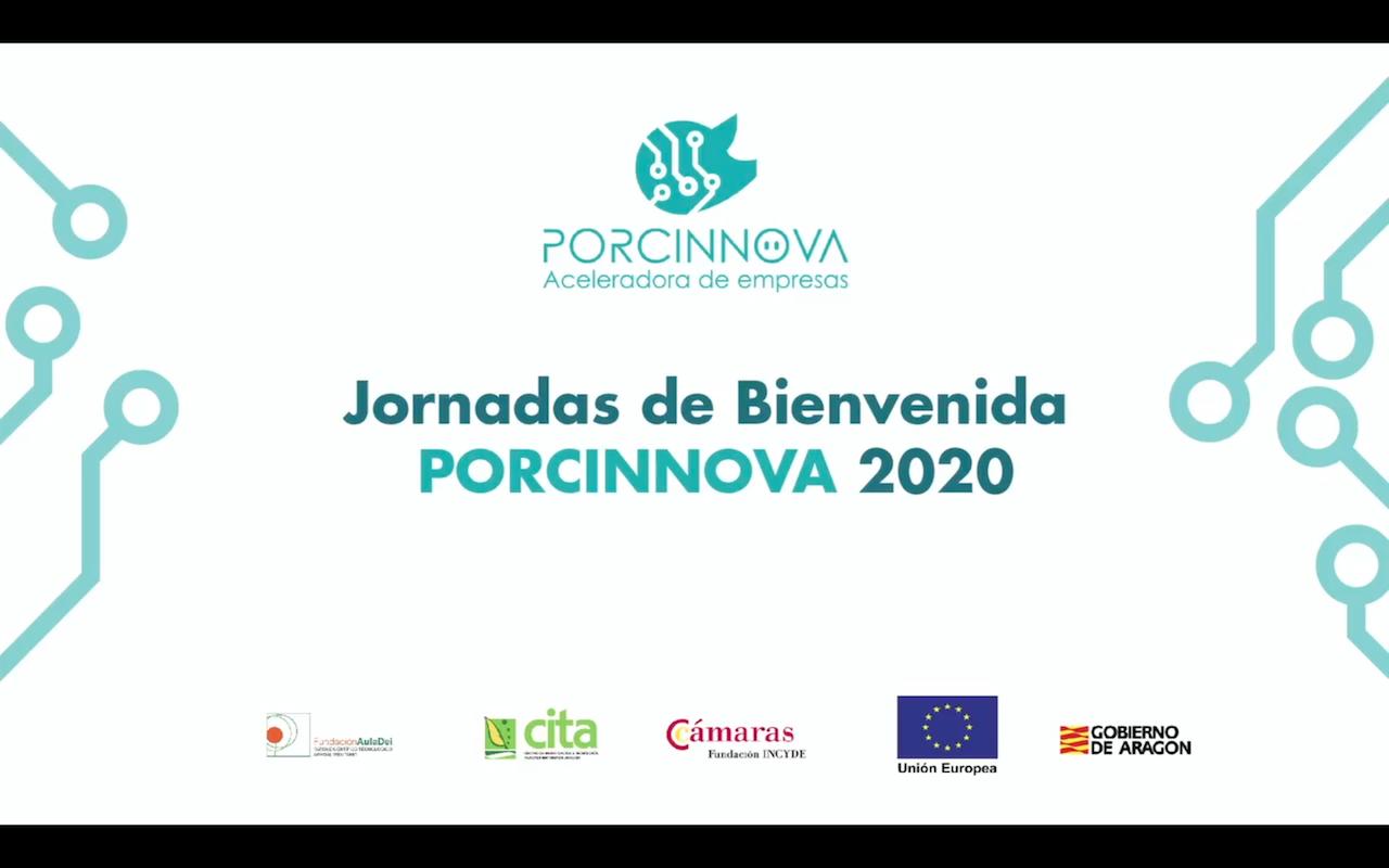 Jornadas de Bienvenida 2020 a los nuevos proyectos PORCINNOVAdores