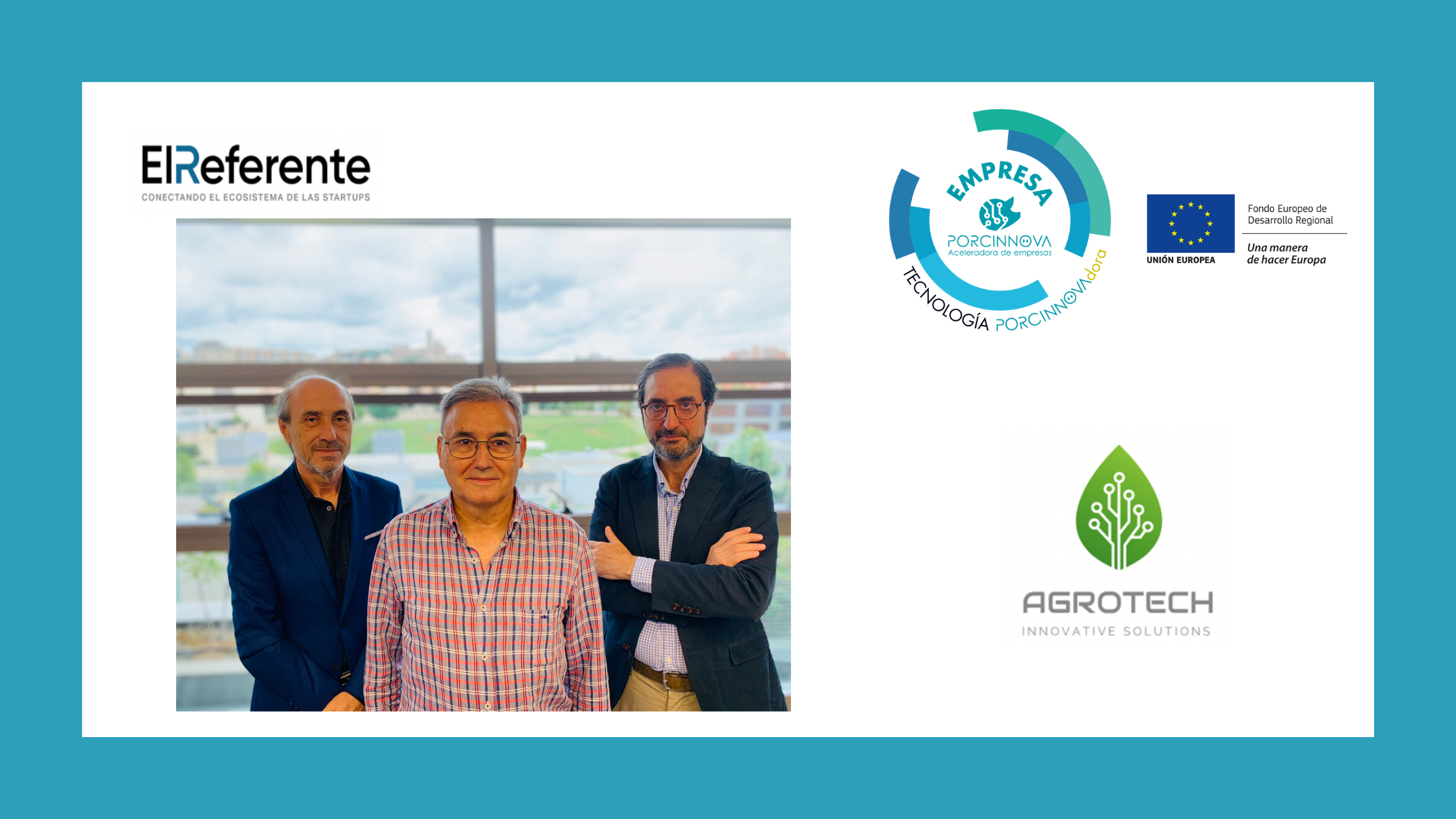 La empresa PORCINNOVAdora Agrotech en El Referente