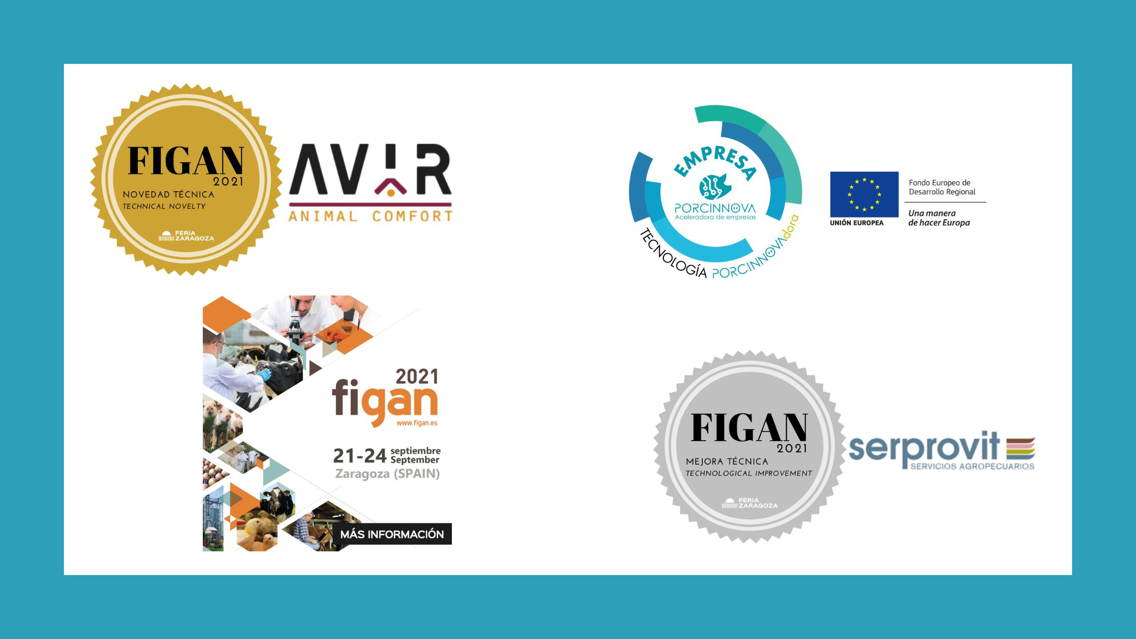FIGAN 2021 premia a dos proyectos PORCINNOVAdores